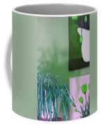 Spider Plant - Green Tulips - Still Life Coffee Mug