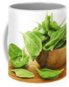 Spinach Coffee Mug by Elena Elisseeva