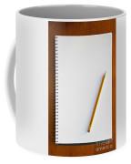Spiral Notebook Coffee Mug
