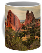 Spires In The Garden Coffee Mug