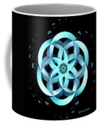 Spirit Of Water 1 - Blue With Water Drops Coffee Mug