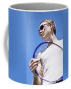 Sporting A Racquet Coffee Mug