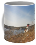 Squirrel Point Lighthouse Kennebec River Maine Coffee Mug
