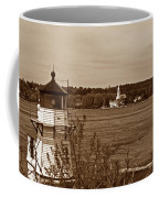 Squirrel Point Lighthouse Coffee Mug by Skip Willits