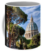 St Peters Basilica Dome Coffee Mug