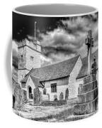 St Sannans Church Bedwellty 2 Mono Coffee Mug
