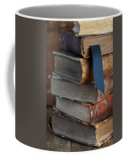 Stack Of Vintage Books Coffee Mug