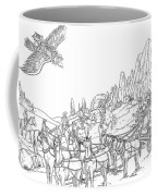 Stagecoach Robbery Coffee Mug