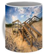Stairway To Heaven Coffee Mug by Debra and Dave Vanderlaan