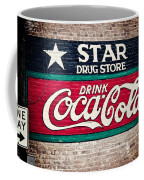 Star Drug Store Wall Sign Coffee Mug