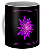 Starburst-32 Framed Black And Pink Coffee Mug