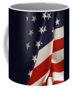 Stars And Stripes Coffee Mug by Les Cunliffe