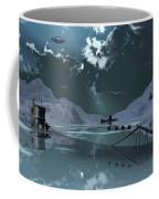 Station 211 Alien Nazi Base Located Coffee Mug