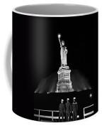 Statue Of Liberty On V-e Day Coffee Mug