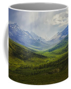 Storm Clouds Over The Klondike Valley Coffee Mug