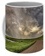 Storm Clouds Prairie Sky Saskatchewan Coffee Mug