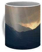 Stormy Pikes Peak Coffee Mug