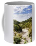 Strahan Coast Landscape Winding To The Ocean Coffee Mug