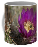 Strawberry Hedgehog Flower Coffee Mug