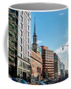 Streets Of Washington Dc Usa Coffee Mug