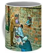 Streetside Barbershop In Hanoi-vietnam  Coffee Mug