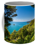 Subtropical Forest Of Abel Tasman Np In New Zealand Coffee Mug