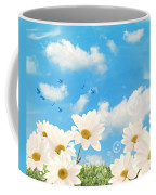 Summer Daisies Coffee Mug by Amanda Elwell