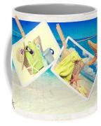 Summer Postcards Coffee Mug by Amanda Elwell