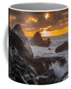 Sun Sets On Patrick's Point Coffee Mug