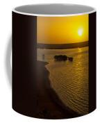 Sunrise And Mangrove Trees Coffee Mug