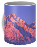 Sunrise At 14,494 Feet, Mount Whitney Coffee Mug