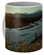 Sunrise On Mnt Denali, Trapper Creek Coffee Mug