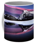 Sunset Mount Rundle Coffee Mug