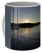 Sunset On The Pier Coffee Mug