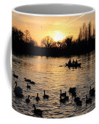 Sunset On The Thames At Walton Coffee Mug
