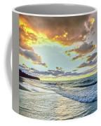 Sunset Over Lake Superior, Keweenaw Coffee Mug