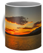 Sunset Over Mackay Reservoir Coffee Mug