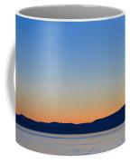 Sunset Over Strait Of Georgia Coffee Mug
