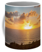 Sunset Over The Pacific Ocean, Torrey Coffee Mug