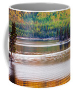 Sunset Reflections On Boreal Forest Lake In Yukon Coffee Mug