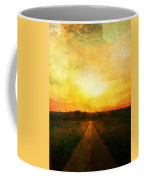 Sunset Road Coffee Mug by Brett Pfister