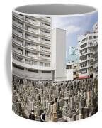 Super Dense Cemetery In Tokyo Coffee Mug