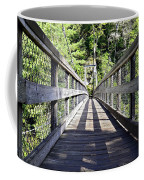 Suspension Bridge Coffee Mug by Susan Leggett