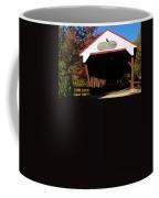 Swift River Covered Bridge Coffee Mug by Jeff Folger