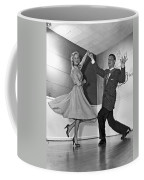 Swing Dancing Couple Coffee Mug