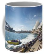Sydney Harbour In Australia By Day Coffee Mug