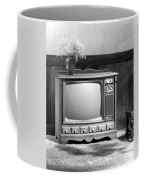Sylvania Electric Products Introduces Its 1970 Color Television Coffee Mug by Underwood Archives