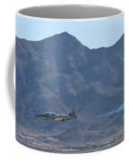 T-33 Shooting Star Flyby Nellis Coffee Mug