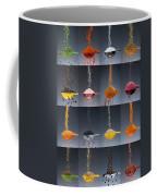 1 Tablespoon Flavor Collage Coffee Mug by Steve Gadomski