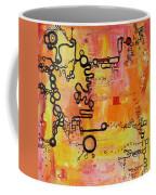 Tadpole Diagrams At Play Coffee Mug